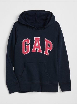 Černá holčičí mikina GAP Logo hoodie sweatshirt