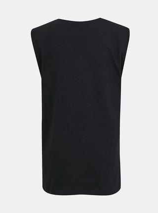 Čierne dlhé tričko Pieces Tabbi