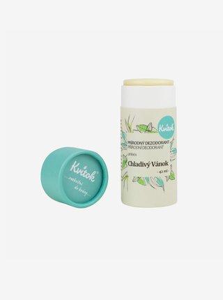 Přírodní tuhý deodorant Chladivý vánek 42 ml Kvitok