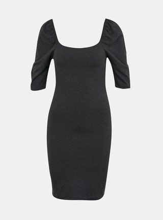 Tmavě šedé pouzdrové šaty VERO MODA Gloria