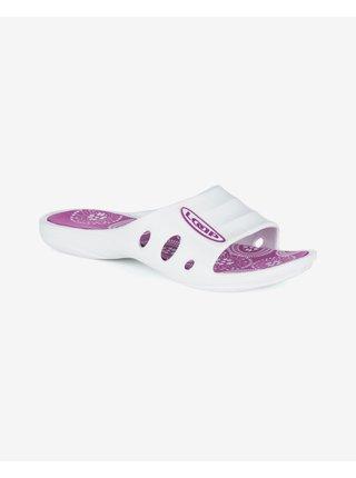 Papuče, žabky pre ženy LOAP - ružová, biela