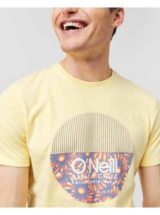 Tričká s krátkym rukávom pre mužov O'Neill - žltá
