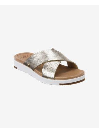 Papuče, žabky pre ženy UGG - zlatá