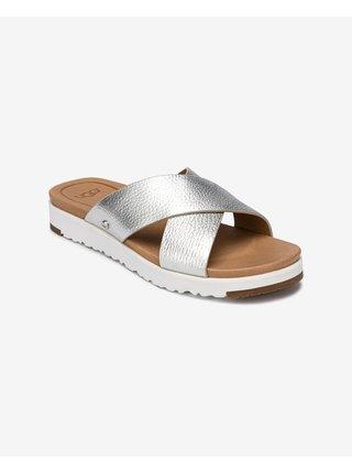 Papuče, žabky pre ženy UGG - strieborná