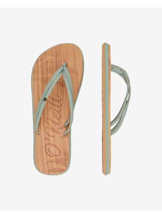 Papuče, žabky pre ženy O'Neill - zlatá, hnedá