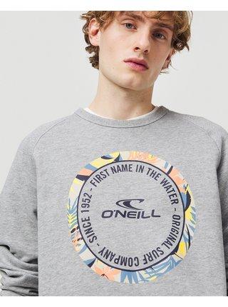 Mikiny bez kapuce pre mužov O'Neill - sivá