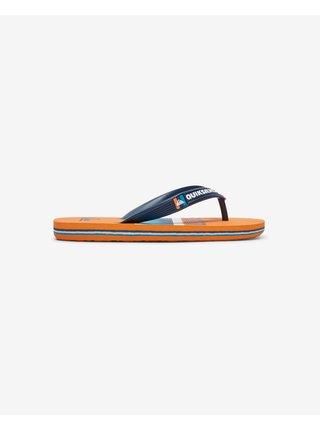 Quiksilver - modrá, oranžová