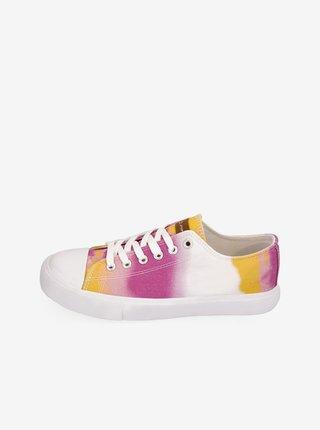 Dámská obuv městská ALPINE PRO Valera žlutá