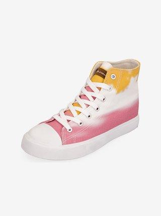 Dámská obuv městská ALPINE PRO Daira oranžová