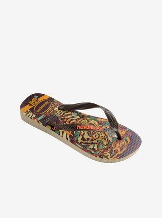 Papuče, žabky pre ženy Havaianas - hnedá
