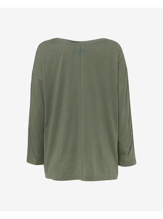 Tričká s dlhým rukávom pre ženy O'Neill - zelená