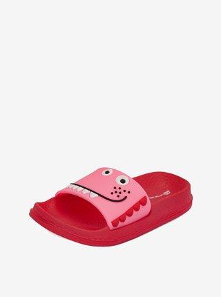 Dětské obuv letní ALPINE PRO Akoto oranžová