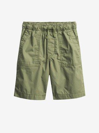 Zelené klučičí dětské kraťasy pull-on shorts