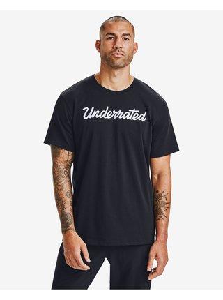 Tričká s krátkym rukávom pre mužov Under Armour - čierna