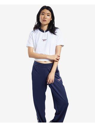 Tričká s krátkym rukávom pre ženy Reebok - biela