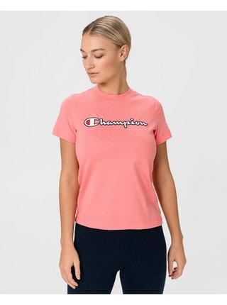 Tričká s krátkym rukávom pre ženy Champion - ružová
