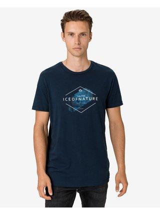 Tričká s krátkym rukávom pre mužov LOAP - modrá