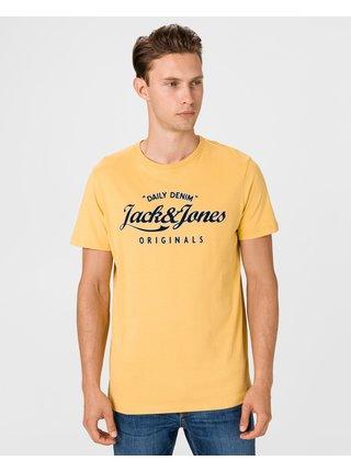 Tričká s krátkym rukávom pre mužov Jack & Jones - žltá