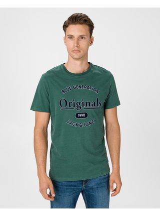 Tričká s krátkym rukávom pre mužov Jack & Jones - zelená