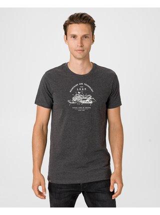 Tričká s krátkym rukávom pre mužov LOAP - čierna