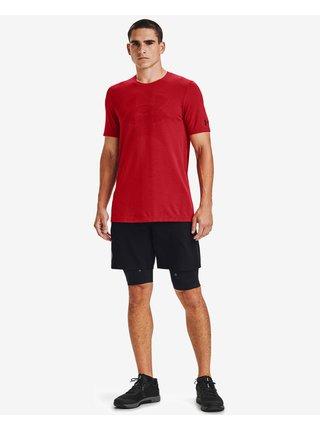 Tričká s krátkym rukávom pre mužov Under Armour - červená