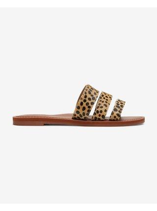 Papuče, žabky pre ženy Roxy - hnedá
