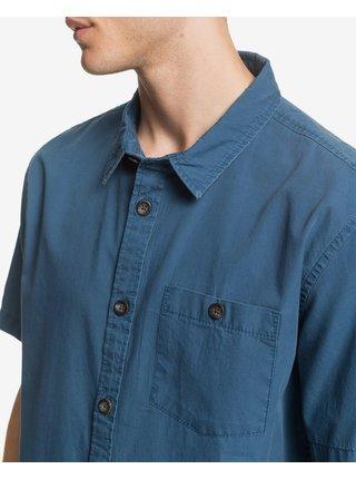 Košele s krátkym rukávom pre mužov Quiksilver - modrá