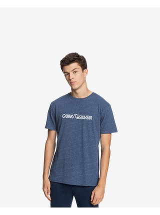 Tričká s krátkym rukávom pre mužov Quiksilver - modrá