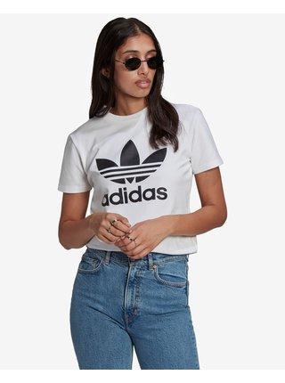 Tričká s krátkym rukávom pre ženy adidas Originals - biela