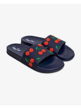 Sandále, papuče pre mužov Happy Socks - čierna