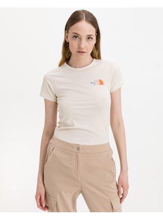 Tričká s krátkym rukávom pre ženy The North Face - biela