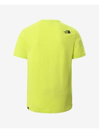 Tričká s krátkym rukávom pre mužov The North Face - žltá