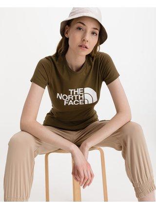 Tričká s krátkym rukávom pre ženy The North Face - hnedá