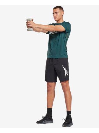 Tričká s krátkym rukávom pre mužov Reebok - zelená