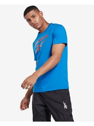 Tričká s krátkym rukávom pre mužov Reebok - modrá