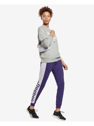Tepláky pre ženy Reebok - fialová