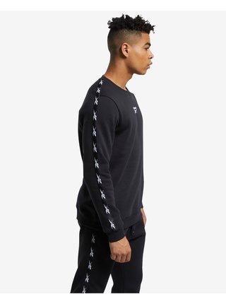 Tričká s dlhým rukávom pre mužov Reebok - čierna