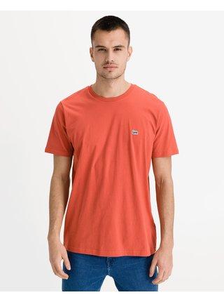 Tričká s krátkym rukávom pre mužov Lee - oranžová