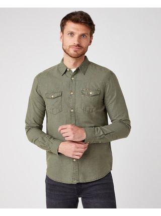 Formálne pre mužov Wrangler - zelená