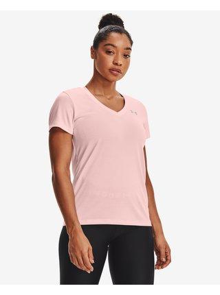 Tričká s krátkym rukávom pre ženy Under Armour - ružová