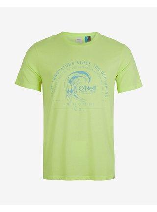 Tričká s krátkym rukávom pre mužov O'Neill - zelená