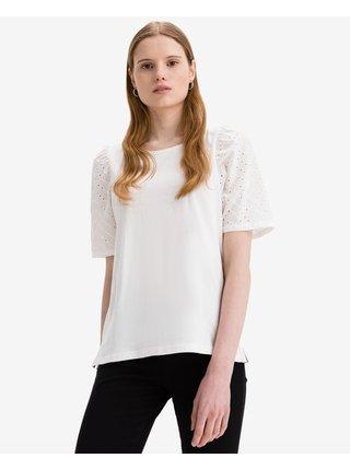 Tričká s krátkym rukávom pre ženy ICHI - biela