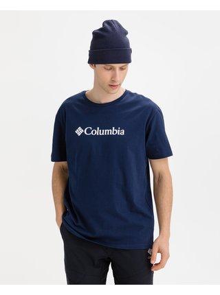 Tričká s krátkym rukávom pre mužov Columbia - modrá