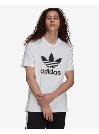 Tričká s krátkym rukávom pre mužov adidas Originals - biela