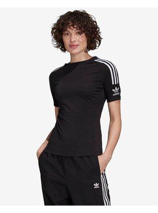 Tričká s krátkym rukávom pre ženy adidas Originals - čierna