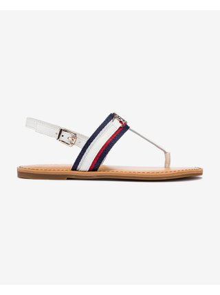 Shimmery Ribbon Flat Sandále Tommy Hilfiger