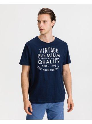 Tričká s krátkym rukávom pre mužov Blend - modrá