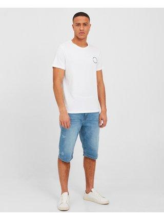 Tričká s krátkym rukávom pre mužov Blend - biela
