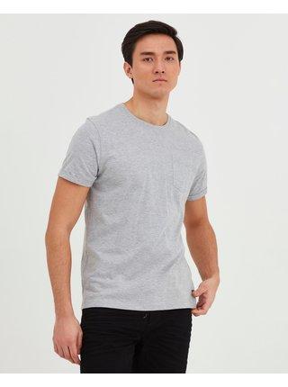 Tričká s krátkym rukávom pre mužov Blend - sivá