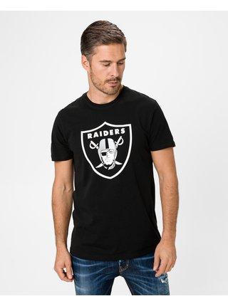 Tričká s krátkym rukávom pre mužov New Era - čierna